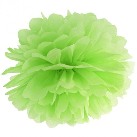Pompom-Apfelgrün