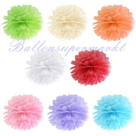 Pompoms-Farben