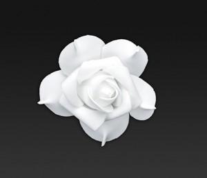 Rosen-weiss-selbstklebend