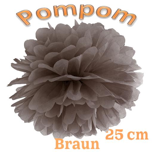 Pompom Braun