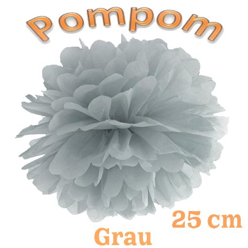 Pompom Grau
