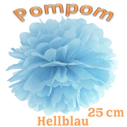 Pompom Hellblau