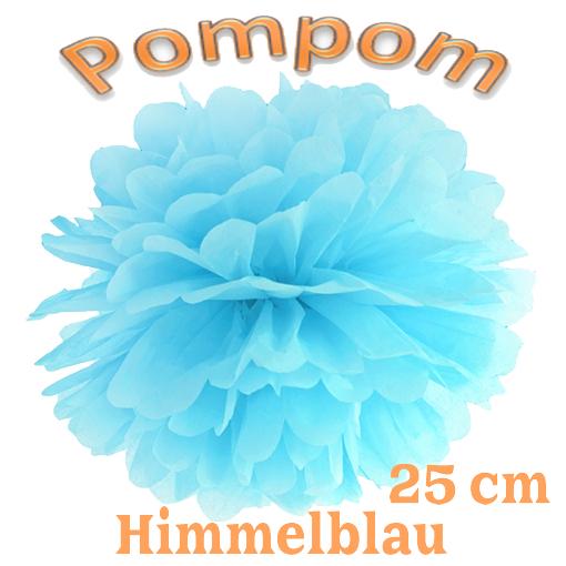 Pompom Himmelblau