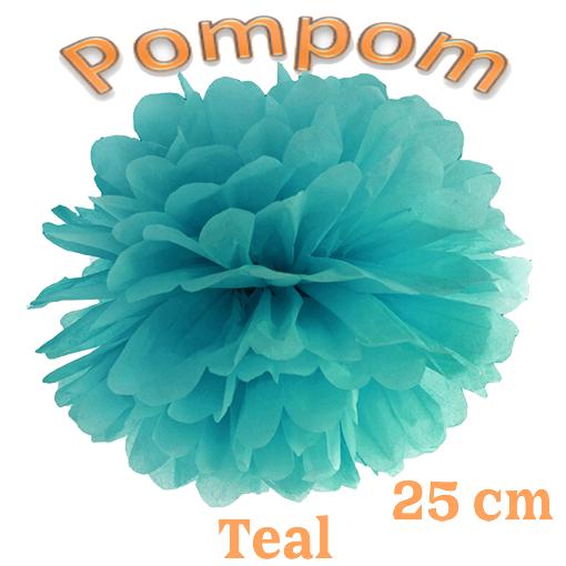 Pompom Teal