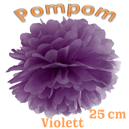 Pompom Violett